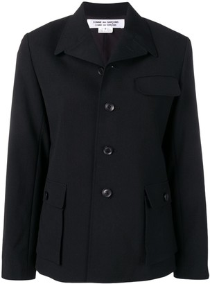 Comme des Garcons sctructured fitted blazer