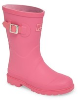 Joules Girl's Welly Matte Waterproof Rain Boot