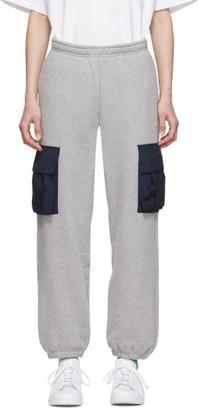 Rassvet Grey Contrast Pocket Lounge Pants
