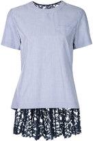 Sacai lace embellished T-shirt