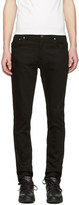 Nudie Jeans Black Thin Finn Jeans