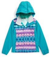 The North Face Girl's Resolve Reflective Waterproof Hooded Jacket