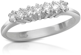 Forzieri 0.10 ct Diamond 18K Gold Band Ring