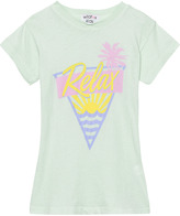 Wildfox Couture Mint Relax Print Tee