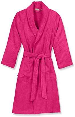Wella Irya Women's Dressing Gown 110 x 55 x 1.1 cm, Bamboo, fuchsia, 110 x 55 x 1.1000000000000001 cm