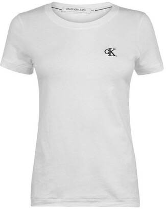 Calvin Klein Jeans Embroidered Logo Slim Fit T-Shirt