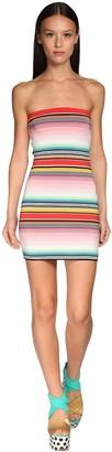 Missoni Striped Stretch Jersey Mini Dress