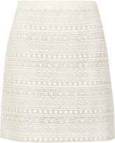 Giambattista Valli Cotton-blend Lace Skirt - Ivory