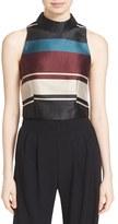 Ted Baker Women's 'Josla' Stripe Crop Top