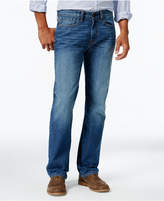 Tommy Hilfiger Men's Big & Tall Relaxed-Fit Dark Blue Wash Jeans