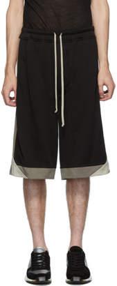 Rick Owens Black Karloff Shorts