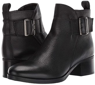 Clarks Mila Charm (Black Leather) Women's Boots