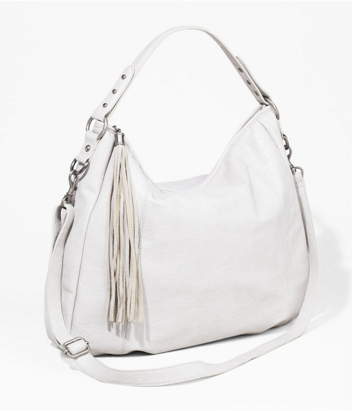 Express Fringe Tassel Hobo Bag