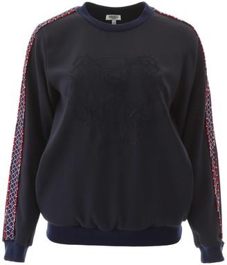Kenzo Fishnet Tiger Logo Sweater