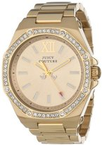 Juicy Couture Women's 1901028 Chelsea Gold Plated Bracelet Watch