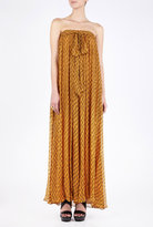 Saliaz Mediterranean Flower Maxi Dress