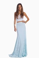 Wildfox Couture Mermaid Skirt in Starlight Seafoam