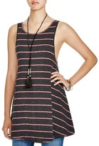 Free People Garden Striped Top