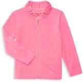 Lilly Pulitzer Little Girl's & Girl's Jayla Velour Zip-Up Jacket