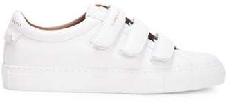 Givenchy Urban Street Grip-Tape Leather Sneakers