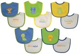 Neat Solutions Water Resistant Bib Set - Cotton Blend - Multi - 10 ct
