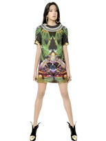 Manish Arora Printed Cotton Satin Dress