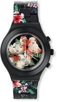 Swatch Women's Irony SVCF4002AG Multicolor Aluminum Swiss Quartz Watch