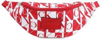 Calvin Klein Jeans Mirror Logo Nylon Belt Bag