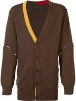 D.Gnak - contrast trim cardigan - men - Wool - 50