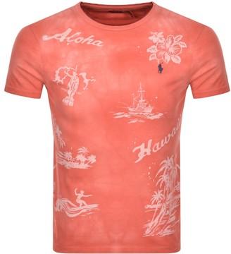 Ralph Lauren T Shirt Red
