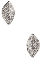Amrita Singh Crystal Leaf Stud Earrings