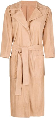 Drome Slouchy Trench Coat