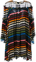 Sonia Rykiel Multicolor Stripe Flared Dress