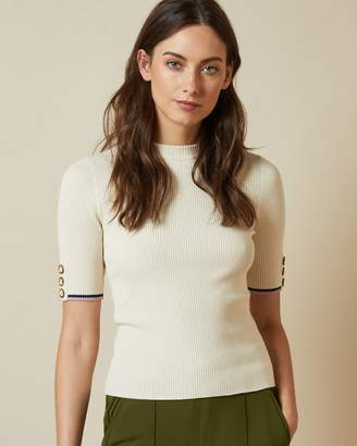 Ted Baker ANISHE Rib knitted top