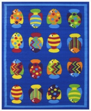 "Fun Rugs Fun Time Fish Tank 19"" x 29"" Area Rug Bedding"