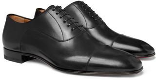 Christian Louboutin Greggo Leather Oxford Shoes