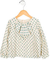 Chloé Girls' Silk Printed Top