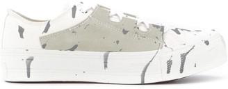 Needles Paint Splattered Low-Top Sneakers