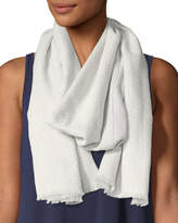 Eileen Fisher Printed Organic Cotton Medley Scarf