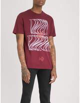 TDE DAMN. Official Merch cotton-jersey T-shirt
