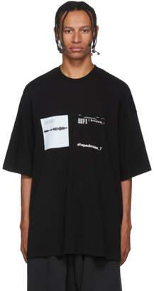 Julius Black Mesh T-Shirt