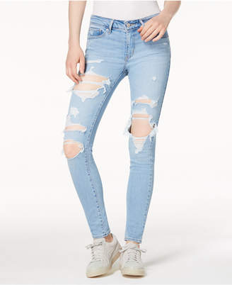 Levi's Women 711 Ripped Skinny Jeans