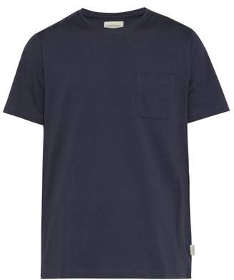 Oliver Spencer Oli Organic Cotton Jersey T Shirt - Mens - Navy