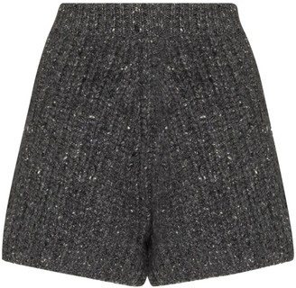 Alanui Fancy ribbed bermuda shorts