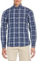 Gant Fitted Plaid Cotton Sportshirt