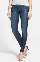 7 For All Mankind 'The Skinny' Mid Rise Skinny Jeans (Nouveau New York Dark)