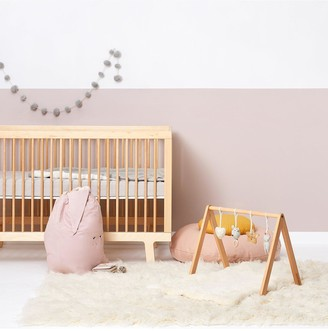 The Little Green Sheep A Frame Wooden Baby Play Gym & Charms Set