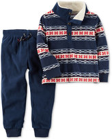Carter's 2-Pc. Printed Top and Jogger Pants Set, Baby Boys (0-24 months)