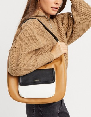 Fiorelli Tufnell Shoulder Bag in Toffee Mix