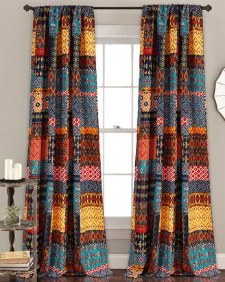 Triangle Home Fashion Misha Room Darkening Window Curtain